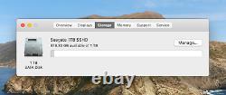 Apple Macbook Pro 13 8GB RAM 1TB SSD 2.26GHz intel MacOS 2019 Catalina