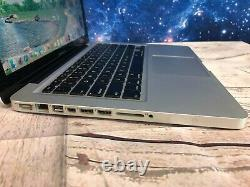 Apple Macbook Pro 13 Laptop 8GB RAM + 500GB HD OSX-2017 + 2 YR WARRANTY
