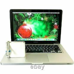 Apple Macbook Pro 13 Laptop 8GB RAM + 500GB MAC OS 2 YR WARRANTY
