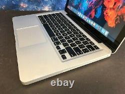 Apple Macbook Pro 13 Pre-Retina / 8GB + 250GB SSD / OSX-2017 + 2 YR WARRANTY