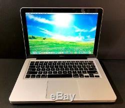 Apple Macbook Pro 13 Pre-Retina / UPGRADED 8GB + 500GB / 1 Year Warranty