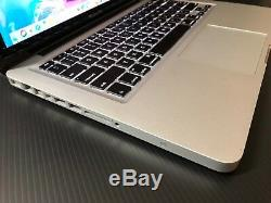 Apple Macbook Pro 13 Pre-retina Upgraded 1tb Hd + 8gb Ram + 1 Year Warranty