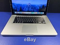 Apple Macbook Pro 15 + 6gb Ram 1tb Ssd + 3 Year Warranty + Intel Pre-retina