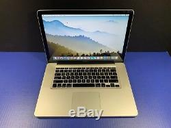 Apple Macbook Pro 15 8gb Ram 1tb 3 Year Warranty Intel Pre-retina