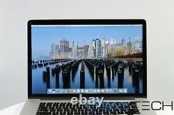 Apple Macbook Pro 15 Retina 2.6Ghz 3.8Ghz Quad-Core i7 16GB RAM 512 SSD