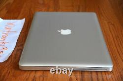Apple Macbook Pro 15 i7 2.0-2.9GHz Quad 8GB RAM 1TB SSHD Radeon Graphics READ