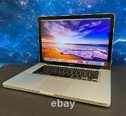 Apple Macbook Pro 15 inch Laptop i5 8GB 250GB SSD MAC OS2017 2 YR Warranty