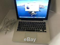 Apple Macbook Pro A1278 Core I5 @ 2.5GHZ 120gb SSD 8GB RAM OS 10.15 New Charger