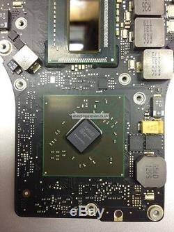 Apple Macbook Pro A1286 820-2915-A 15 2011 Logic Board Repair New GPU Reball