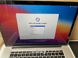 Apple Macbook Pro Retina 15.4 Core i7 late 2014 512GB SSD 2.5GHz 16GB GT750M