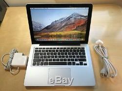 Apple Silver MacBook Pro13 500GB HDD/ Intel i5 /4GB RAM/MacOS High Sierra 2017