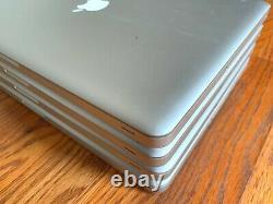 Lot of 4 Apple Macbook Pro 15 2010 2009 a1286 i5 2.66 2.53GHz 8GB RAM READ
