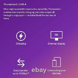 M1 Apple MacBook Pro 13-inch 1TB SSD 16GB RAM Space Grey Laptop 13 Mac Silicon