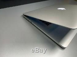 MacBook Pro 15 RETINA 3.2GHz Quad Core i7 16GB RAM 500GB SSD WARRANTY OS-2015