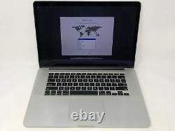 MacBook Pro 15 Retina Mid 2015 2.2GHz Intel Core i7 16GB 256GB Good Condition