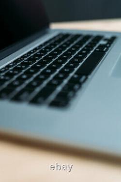 MacBook Pro 15 inch Laptop / QUAD i7 / 16GB 1TB SSD / Retina / OS 2020 BIG SUR