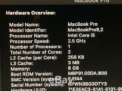 MacBook Pro A1278 13.3 Mid 2012 Core i5 2.5Ghz 8GB 500GB Mojave Adobe FCP Logic