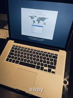 MacBook Pro Retina 15 Mid 2015 Core i7 2.5GHz 16GB RAM 256GB SSD