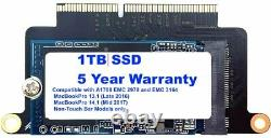 NEW 1TB SSD for MacBook Pro 13 A1708 Non-Touch Bar Models (Late 2016 Mid 2017)