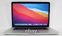 NICE 15 Apple MacBook Pro 2015 Retina 2.5GHz i7 16GB RAM 256GB SSD + WARRANTY