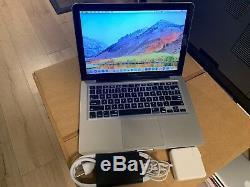 Powerful Apple MacBook Pro13 New 256GB SSD/Intel i5/ 4GB RAM/ High Sierra 2017