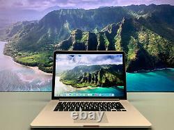 15 Apple Macbook Pro Retina Os-2020 Quad Core I7 4.0ghz 16 Go 1 To Ssd Warranty