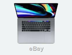 16 Pouces D'apple Bar Macbook Pro 2.6ghz Tactile 6-core Core I7 16gb Ssd 512 Go Radeon 5300m