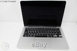 2015 Macbook Pro 13 Pouces Retina Portable 2.7 I5 Ssd 8 Go Ram 128 Go Réformé Os X