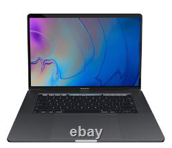 2019 15 Macbook Pro 2.6ghz I7 6-core/16gb/256gb Flash/555x/space Gray