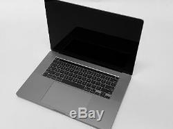 2019 16 Macbook Pro 2.6ghz Core I7 6-core / 16 Go / 512 Go / 4 Go 5300m / Espace Gris