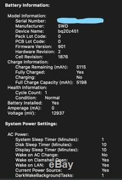 2019 Apple Macbook Pro 13 Core I7 2.8 Ghz 16 Go Ram 512 Go Ssd Applecare + Nouveau 2023