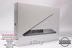 2019 Apple Macbook Pro 15 2.4ghz 8 De Base I9 32gb 1tb Rrp £ 3519 Fcpx / Logic / Es6 / Mso