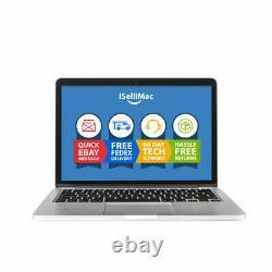 Apple 13 Macbook Pro 2014 2,6ghz 256 Go Ssd 8 Go A1502 Mgx82ll/a + B Grade