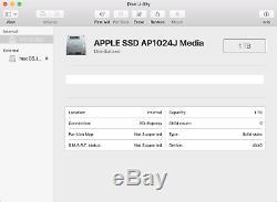 Apple 1tb Pcie Ssd Pour Nvme 2016 2017 13 Macbook Pro A1708 (touches De Fonction)