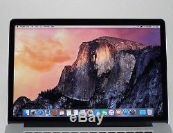 Apple 2014 Macbook Pro Retina 15 Ssd 256 Go I7 256 Go Ssd 16 Go Mgxa2ll / A + B
