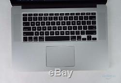 Apple 2015 Macbook Pro Retina 15 Ssd 256 Go I7 256 Go Ssd 16 Go Mjlq2ll / A + B
