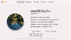 Apple 2017 15 Macbook Pro 2.9ghz I7 16gb 512 Ssd Lire