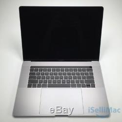 Apple 2017 Macbook Pro Retina Touch Bar 15 Ssd 15 Go À 2.8 Ghz I7 16gb Mptr2ll / A