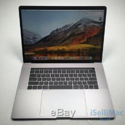 Apple 2018 Macbook Pro Touch Bar 15 Ssd 256 Go Core I7 À 2,2 Ghz Et 16 Go Mr932ll / A