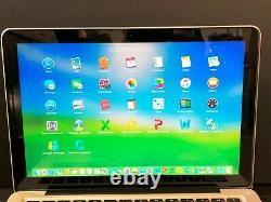Apple Macbook 13 Pré-retina / Upgraded 8 Go + 120 Go Ssd / Garantie 1 An