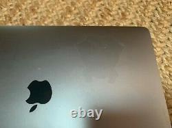 Apple Macbook Pro 13 2017 3.5ghz I7 16 Go 256 Go Touch Bar Finition S'estompe Sur Le Métal