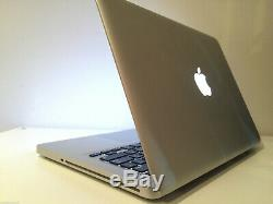 Apple Macbook Pro 13 2,4 Ghz Dual Core 4 Go De Ram 250 Go Hdd Mi-2010 Argent