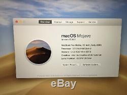 Apple Macbook Pro 13, 3.1ghz Core I7, 8 Go Ram, 256 Go Ssd, 2015 (p62)