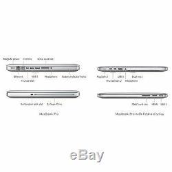 Apple Macbook Pro 13.3 '' Core I7 2,7 Ghz 8 Go 750 Go (e 2011) Une Année 6 M Garantie
