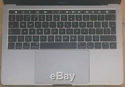 Apple Macbook Pro 13,3 Pouces Core I5 2016 Barre Tactile 2,9 Ghz 8 Go Ssd 256 Gris