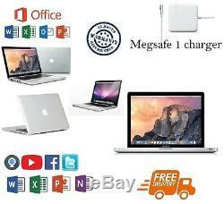 Apple Macbook Pro 13.3 (c2d) 8 Go 500 Go Garantie 12 Mois (avec Office)