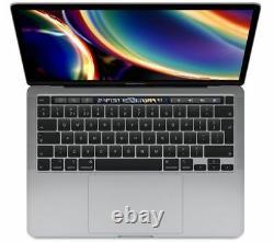 Apple Macbook Pro 13 Avec Touch Bar (2020) Ssd 512 Go Spacegrau Currys