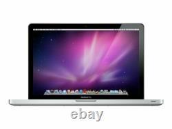 Apple Macbook Pro 13 Core 2 Duo 2,26 Ghz, 4 Go De Ram 500gb Hdd Mi-2009 Argent