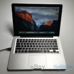 Apple Macbook Pro 13 Core I5 2,4 Ghz 500 Go Disque Dur De 4 Go Md313ll / A + B Année