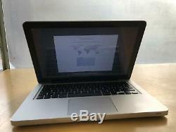 Apple Macbook Pro 13 '' Core I5 2.5ghz / 4go / 500go Juin 2012 Macos Mojave Bureau